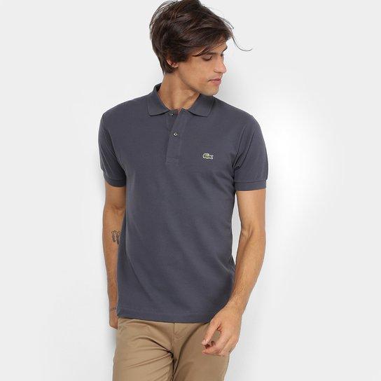 a23eb70d53d22 Camisa Polo Lacoste Piquet Original Masculina - Grafite - Compre ...