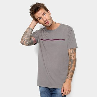 Camiseta Calvin Klein Estampa Básica Masculina 9191c2ecc40
