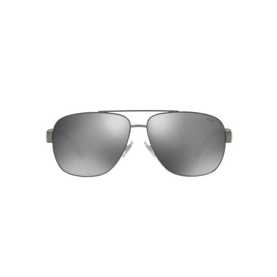 f21f3317119c3 Óculos de Sol Polo Ralph Lauren Piloto - Grafite - Compre Agora ...