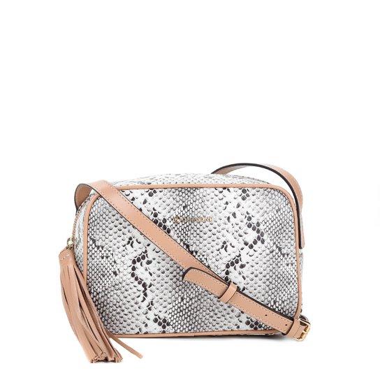 9e09b1232 Bolsa Couro Dumond Mini Bag Desert Feminina - Areia+Bege