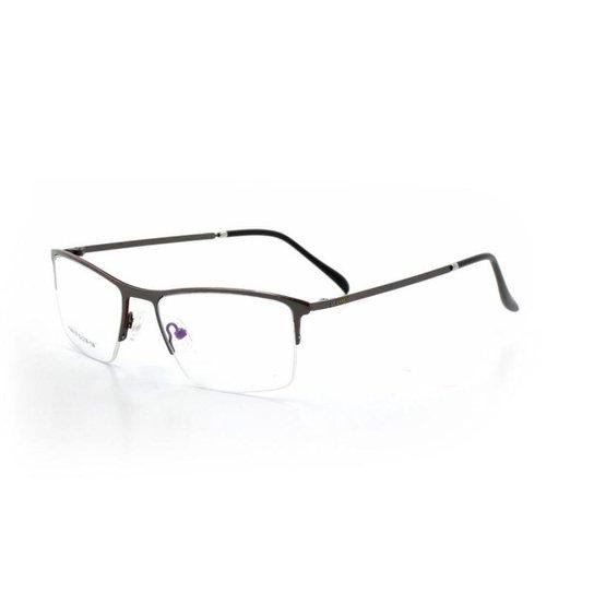 192f55fb0c503 Armação De Óculos De Grau Cannes 96018 T 52 C Masculino - Grafite ...