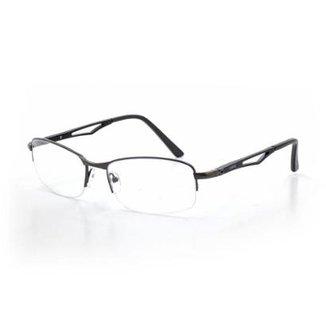 e1141de39656b Armação De Óculos De Grau Cannes 80218 T 57 C 2 Masculino Metal