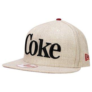 4cfb5c0a44b25 Boné New Era 950 Coca-Cola Especial