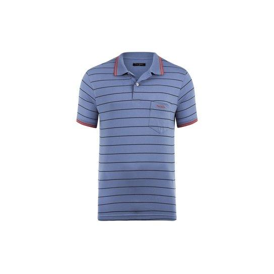 f4fbdd8f0b5 Camisa Polo Pierre Cardin Monaco com bolso Masculina - Compre Agora ...