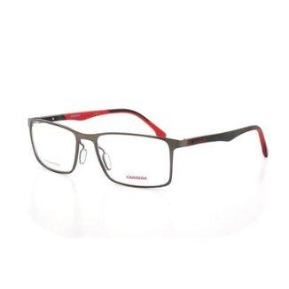 7701d19f9 Armação De Óculos De Grau Carrera 8827/V T 55 C Blx Masculino