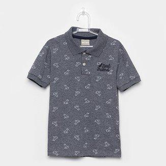 86f59d911d Camisa Polo Infantil Milon Best Friend Masculina