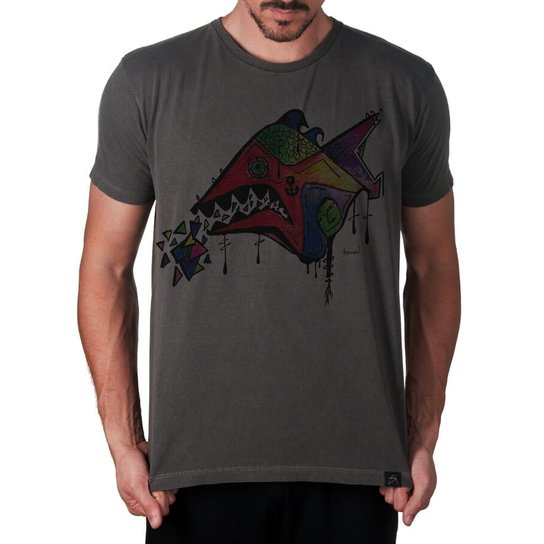 f7d41ff23a295 Camiseta tainha times Santa catarina Artseries Masculina - Compre ...