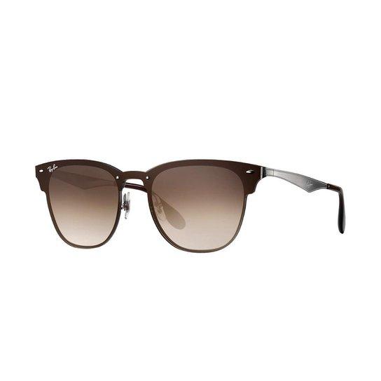 75638dab7 Óculos de Sol Ray-Ban Blaze Feminino - Grafite | Zattini