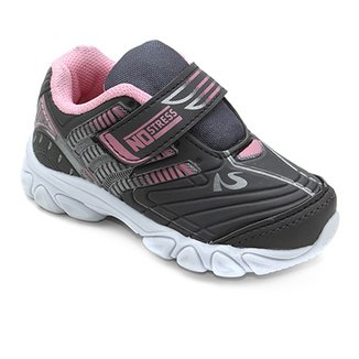 7dbbd7fd0c3 Tênis Infantil No Stress Jogging