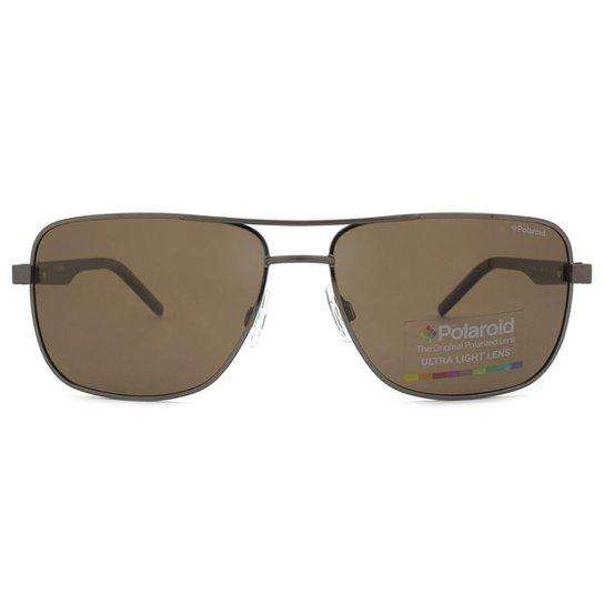 6e4cbba1a Óculos de Sol Polaroid Polarizado PLD Masculino - Grafite