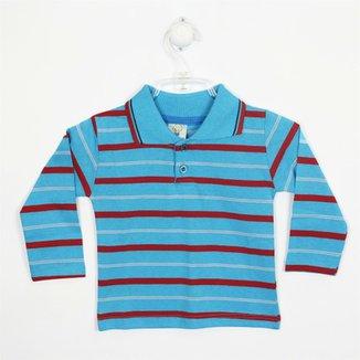 c6cbb9a83 Camiseta Infantil Lucyval Manga Longa