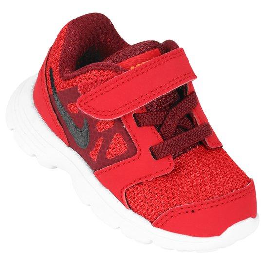 7a0402807c3 Tênis Nike Downshifter 6 Infantil - Vermelho+Vinho