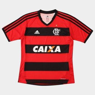 b1121ee2b Camisa Adidas Flamengo I 13 14 s nº Infantil