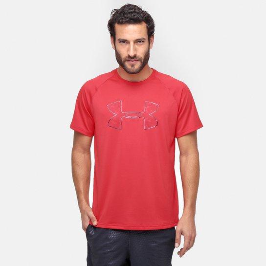 1fe9f32868d Camiseta Under Armour Tech Camo Big Logo Ss T Masculina - Compre ...