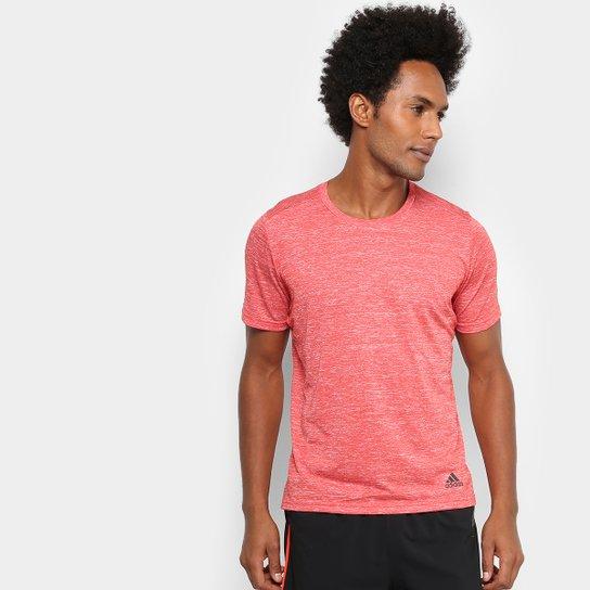96dc325cc62 Camiseta Adidas Run Masculina - Vermelho+Preto