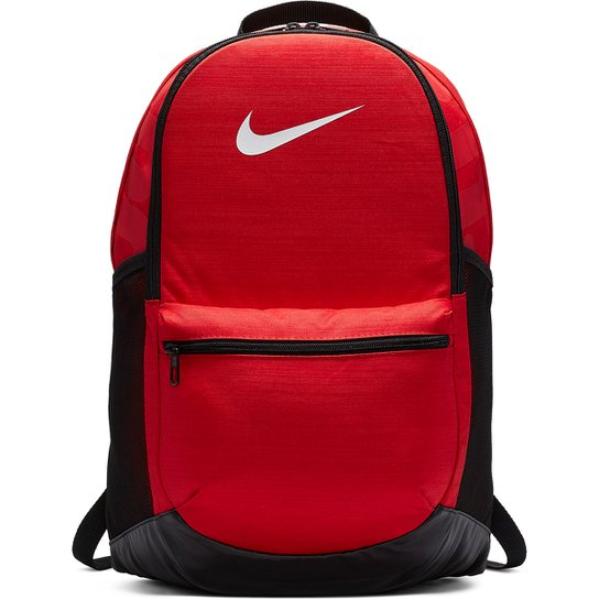 597513055 Mochila Nike Brasília - Vermelho e Preto   Zattini