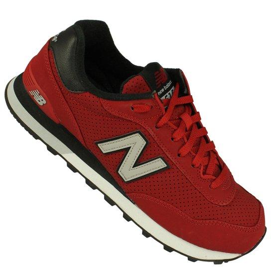 e7b84e794ee Tênis New Balance Ml515 - Vermelho e Preto - Compre Agora