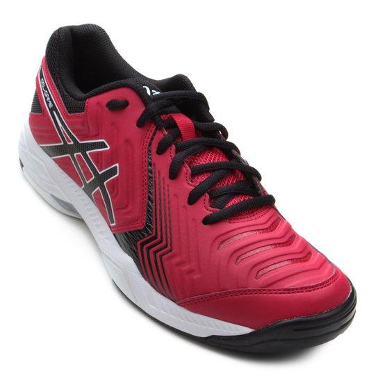 c4a8a520c Tênis Asics Gel-Game 6 Masculino - Vermelho e Preto - Compre Agora ...