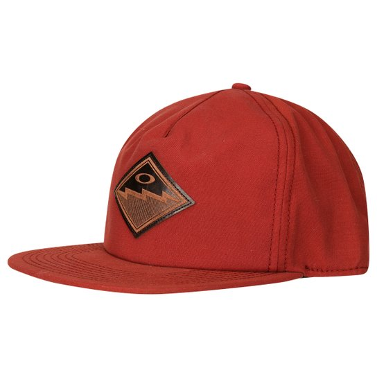 Boné Oakley The Point Hat - Vermelho e Preto - Compre Agora  f2fd0782dc2
