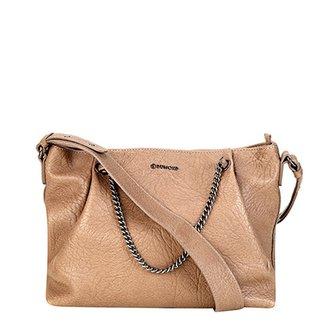 4df27ee89 Bolsa Couro Dumond Shopper Detalhe Corrente Feminino