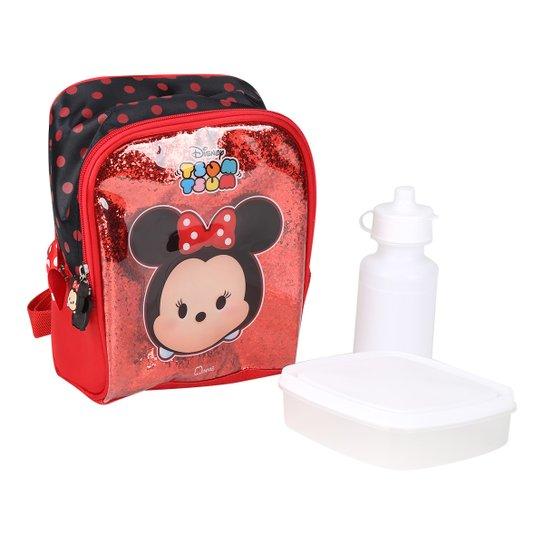 50fa0ad2e Lancheira Térmica Luxcel Disney Minnie Tsum Tsum - Vermelho+Preto