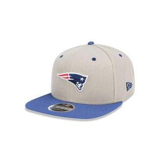 Boné 950 Original Fit New England Patriots NFL Aba Reta Snapback New Era 0e6d822755369