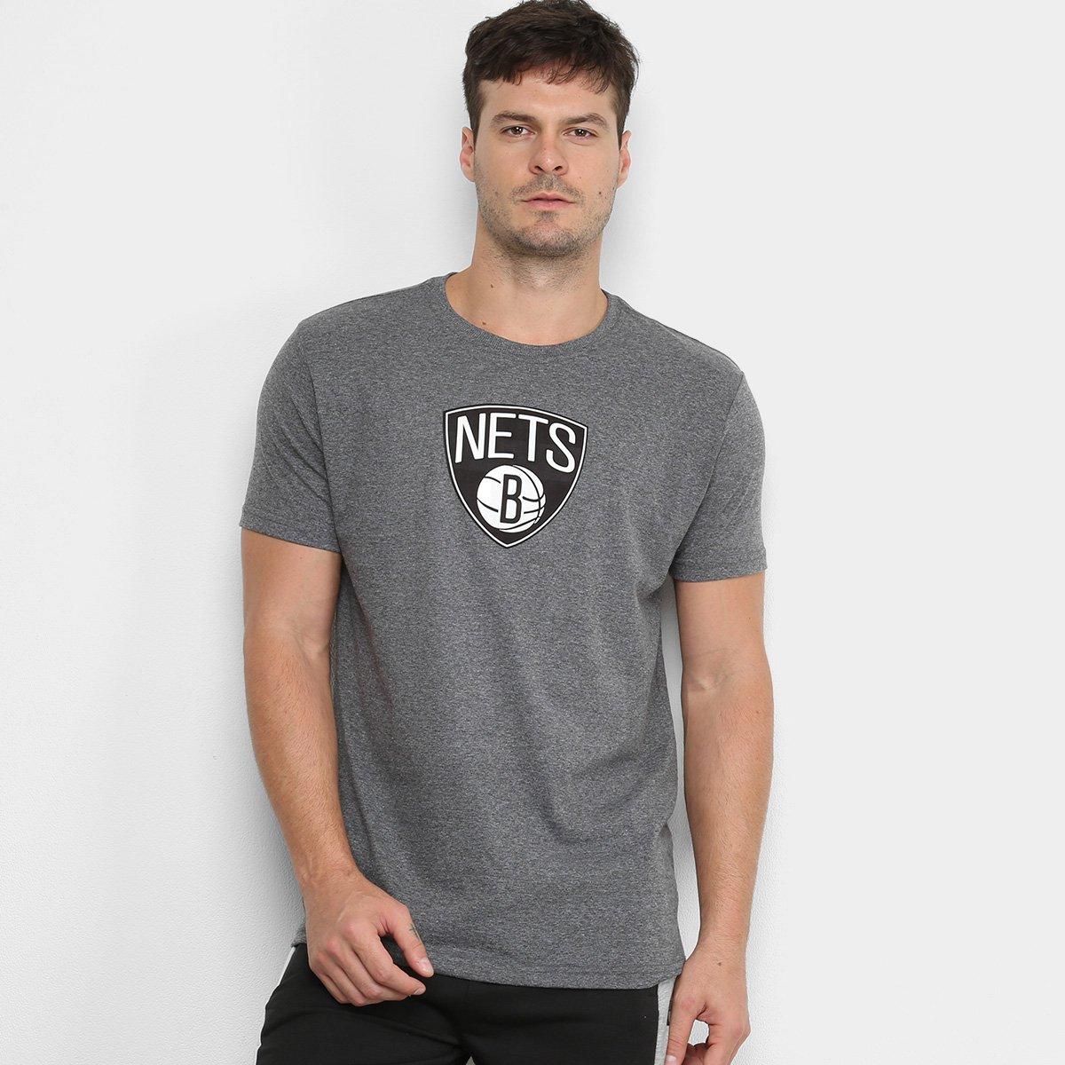 Camiseta NBA Brooklyn Nets Vinil Masculina