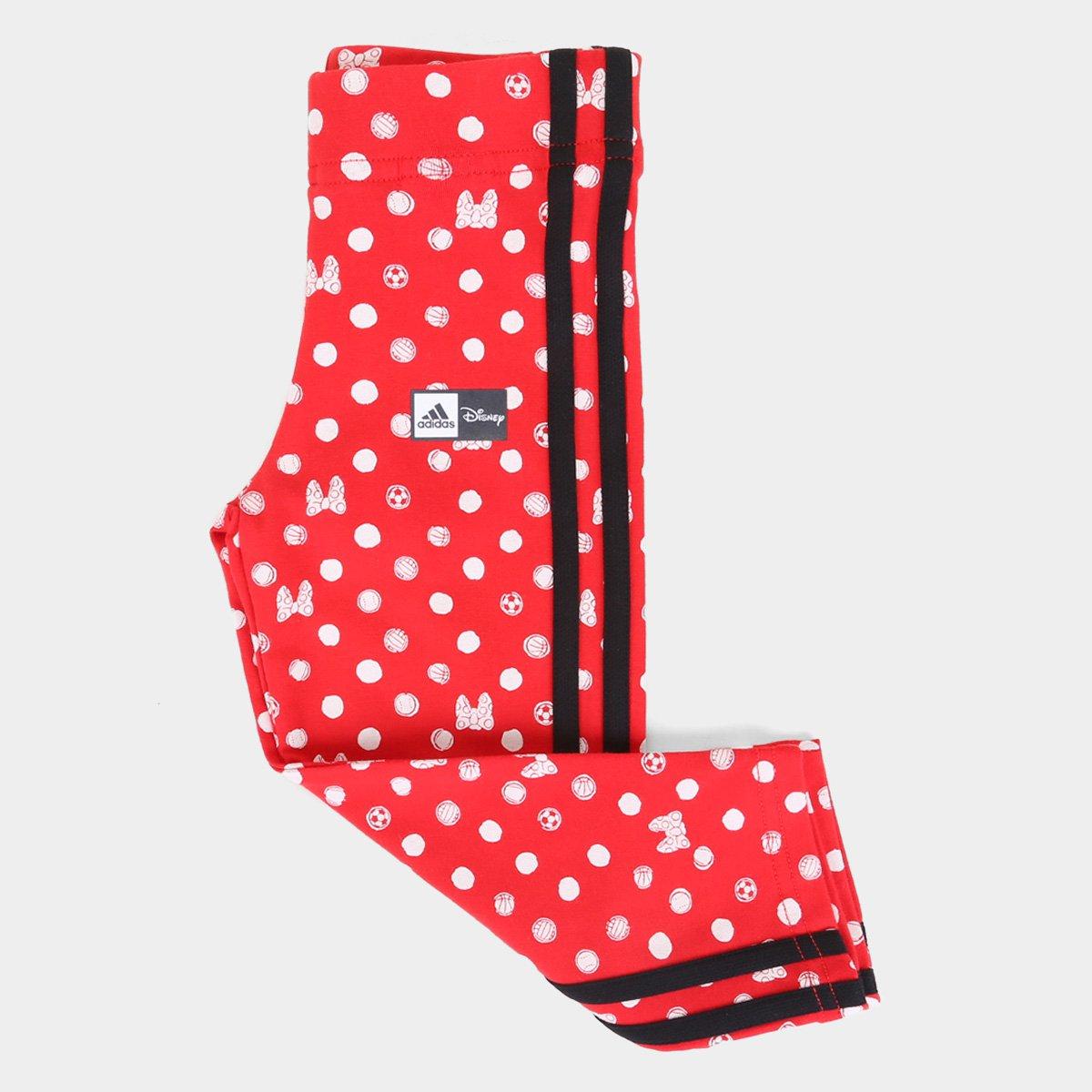 Calça Legging Infantil Adidas Disney Feminina