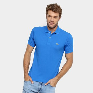 c1a64673fad Camisa Polo Lacoste Original Fit Masculina