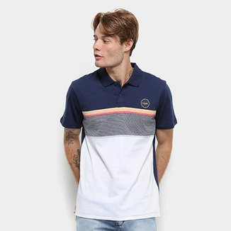 d947e59bd Camisa Polo Rip Curl MF Rapture - Masculina