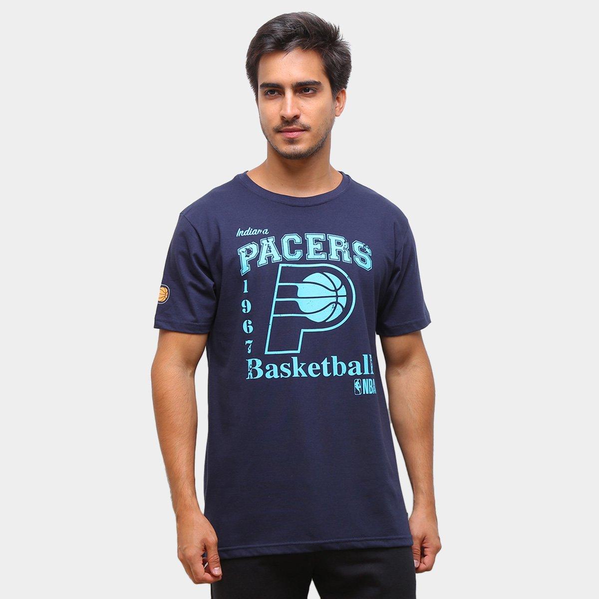 Camiseta NBA Indiana Pacers 1967 Masculina