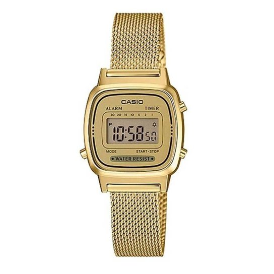 67a2929d988 Relógio Casio Feminino Vintage - Dourado - Compre Agora