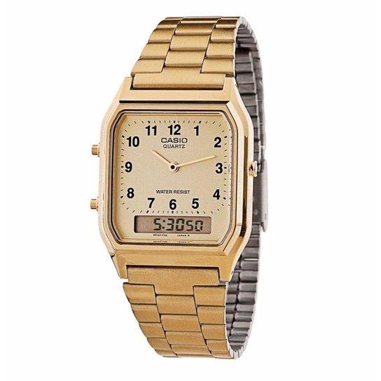 9bee580e48 Relógio Casio Vintage AQ-230GA-9BMQ - Compre Agora