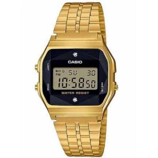 a3c241cbbdd Relógio Casio Vintage Diamond Feminino - Compre Agora