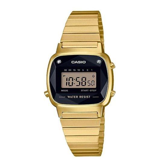 217f1d0ec05 Relógio Casio Vintage Diamond Feminino - Dourado - Compre Agora ...