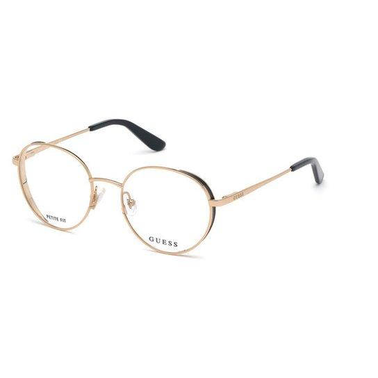 2aea1bdc2 Óculos de Grau Guess Feminino - Dourado   Zattini