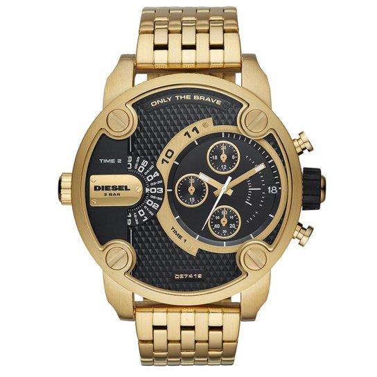 63aa4178e0f Relógio Diesel Masculino Little Daddy Dourado - DZ7412 1DN DZ7412 1DN -  Dourado