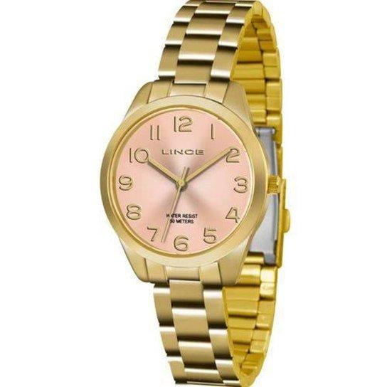 86960d0f0f4 Relógio Lince LRG4459L KT79R2KX Feminino - Dourado - Compre Agora ...