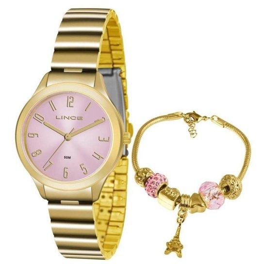 ec92e9c0133 Kit Relógio Feminino Lince Lrc4507l Ku46 - Compre Agora
