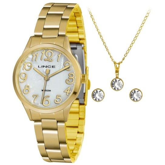f1d2ac6cd79 Relógio Lince Lrgh077l Kv22b2kx Feminino - Dourado - Compre Agora ...