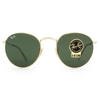 2f5972e90ec4c Óculos de Sol Ray Ban Round Metal RB3447L 001-50 Feminino