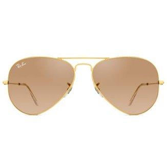 7bbe71b1e Óculos de Sol Ray Ban Aviator RB3025L 001/3E-58 Feminino