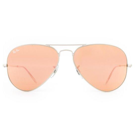 Óculos de Sol Ray Ban Aviator RB3025L 019 Z2-58 Feminino - Compre ... d34e513d65