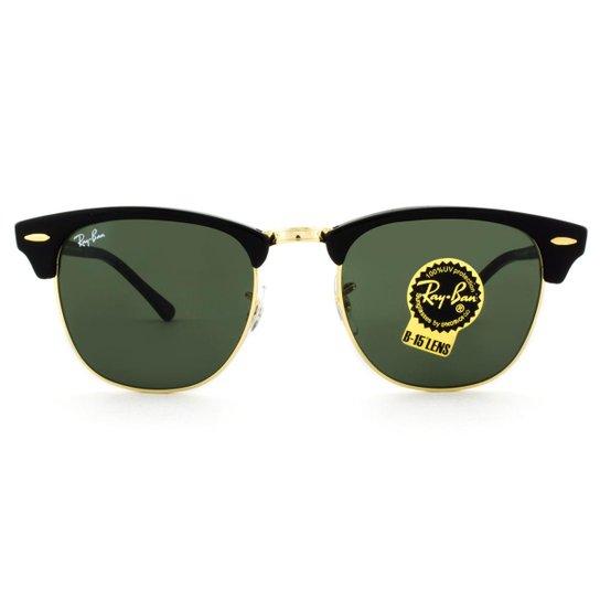 Óculos Ray Ban Clubmaster RB3016L W0365-51 - Compre Agora   Zattini 36cf79943d
