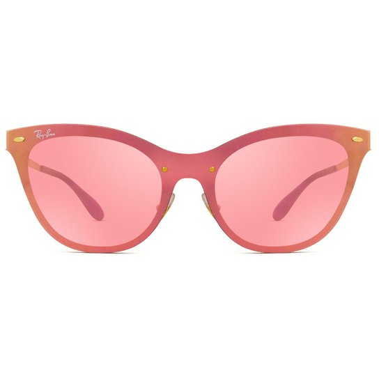 6ae84629922f8 Óculos Ray Ban Blaze Cat Eye - Compre Agora   Zattini