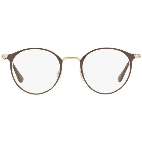 Armação Óculos de Grau Ray Ban RX6378 2905-49 - Compre Agora   Zattini bf9afbfba4