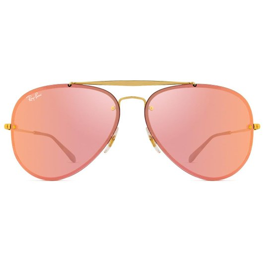 Óculos de Sol Ray Ban Blaze Aviador RB3584N 9052 E4-61 - Compre ... 376ca23de4