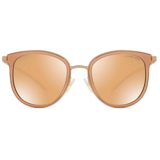 Óculos de Sol Michael Kors Adrianna I MK1010 1103R1-54 Feminino - Dourado b840c018cd