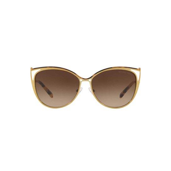 38dc63f170c2d Óculos de Sol Michael Kors Gatinho MK1020 Ina Feminino - Compre ...
