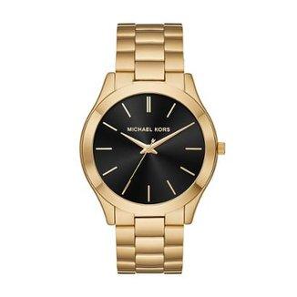 Relógio Michael Kors Feminino Slim Runway - MK8621 1DN MK8621 1DN cc6d82dd7d